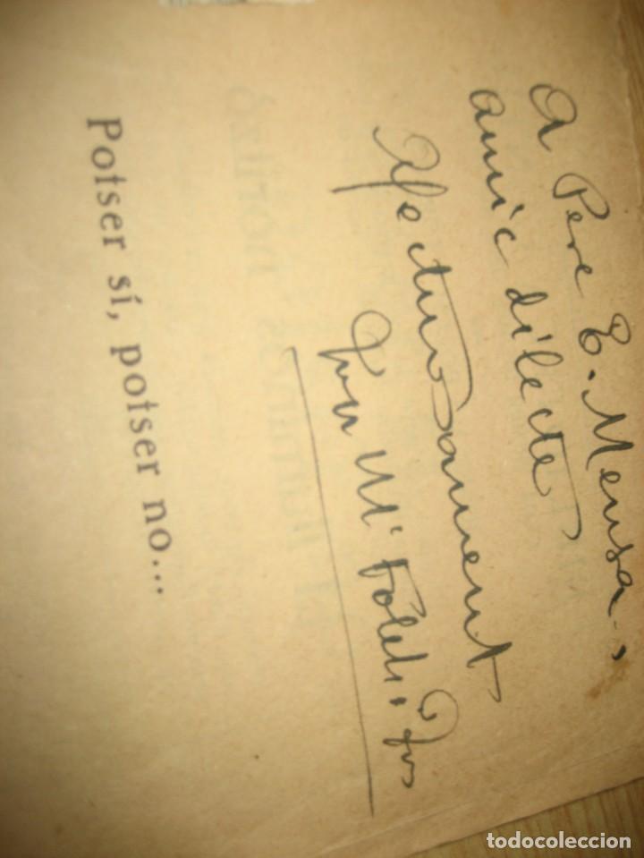 Libros antiguos: Linfant que no sap son nom 1921 potser si potser no Josep Mª Folch i Torres autografo y dedicatoria - Foto 20 - 265769634