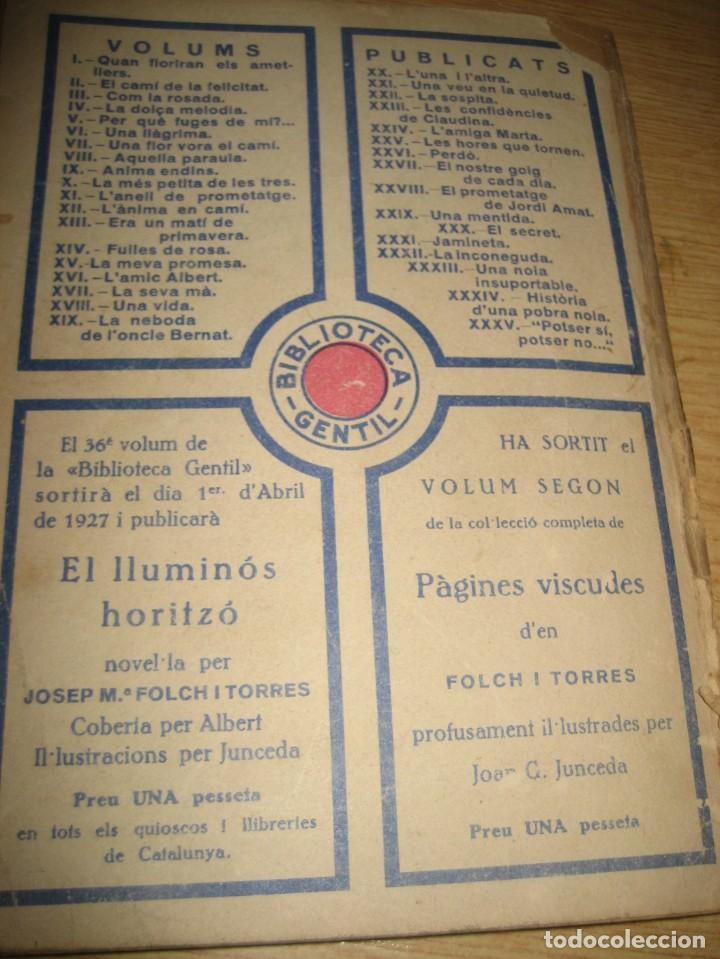 Libros antiguos: Linfant que no sap son nom 1921 potser si potser no Josep Mª Folch i Torres autografo y dedicatoria - Foto 22 - 265769634