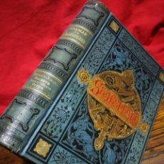 Libri antichi: DRAMAS GUILLERMO SHAKSPEARE- BIBLIOTECA ARTE Y LETRAS, (ENCUADERNACION LUJO) 1881.. Lote 266357193