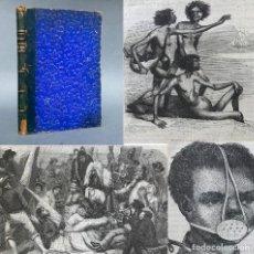 Livros antigos: 1851 - VIAJE ALREDEDOR DEL MUNDO - RECUERDOS DE UN CIEGO - GASPAR Y ROIG - AFRICA. Lote 267011769