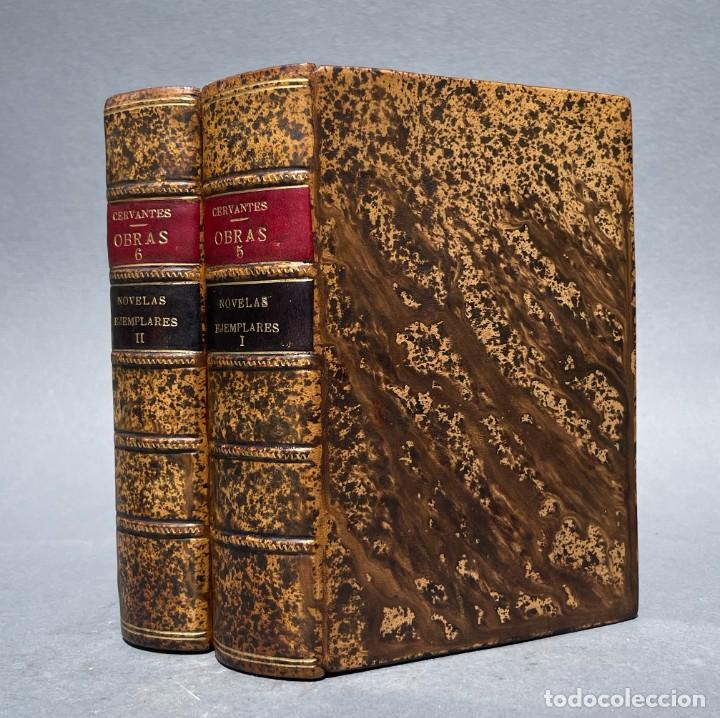 AÑO 1829 - NOVELAS EJEMPLARES - OBRAS ESCOGIDAS DE MIGUEL DE CERVANTES SAAVEDRA (Libros antiguos (hasta 1936), raros y curiosos - Literatura - Narrativa - Clásicos)