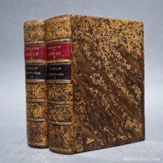 Livres anciens: AÑO 1829 - NOVELAS EJEMPLARES - OBRAS ESCOGIDAS DE MIGUEL DE CERVANTES SAAVEDRA. Lote 267068399