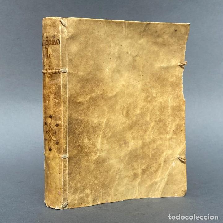AÑO 1709 - NOVELA - ENGAÑOS DE MUGERES Y DESENGAÑOS DE LOS HOMBRES - MONTSERRAT - PERGAMINO - (Libros antiguos (hasta 1936), raros y curiosos - Literatura - Narrativa - Clásicos)