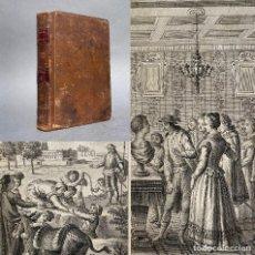 Livros antigos: 1787 - INGENIOSO HIDALGO DON QUIJOTE DE LA MANCHA - CERVANTES - ACADEMIA - IBARRA. Lote 267097974