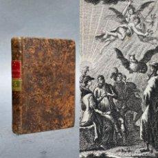 Livros antigos: 1806 - EL HOMBRE FELIZ O ARTE DE VIVIR CONTENTO - GRABADOS - HISTORIA. Lote 267165354