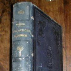Libros antiguos: EL INGENIOSO HIDALGO DON QUIJOTE DE LA MANCHA, POR MIGUEL DE CERVANTES. TOMO 2º. IMP. NACIONAL. 1862. Lote 267272059