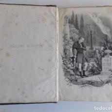 Libros antiguos: LIBRERIA GHOTICA. MANUEL ANGELON. ESPINAS DE UNA FLOR.1862. ILUSTRADO CON GRABADOS. Lote 267413184