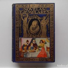 Libros antiguos: LIBRERIA GHOTICA. NOVELAS EJEMPLARES DE CERVANTES SAAVEDRA. ED. SOPENA 1935. MUY ILUSTRADO.. Lote 267671964