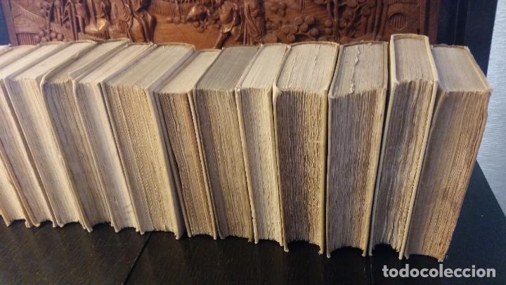 Libros antiguos: 1872 - LIBROS DE ANTAÑO - 15 tomos (colección completa), Librería de los bibliófilos - Foto 5 - 268975799