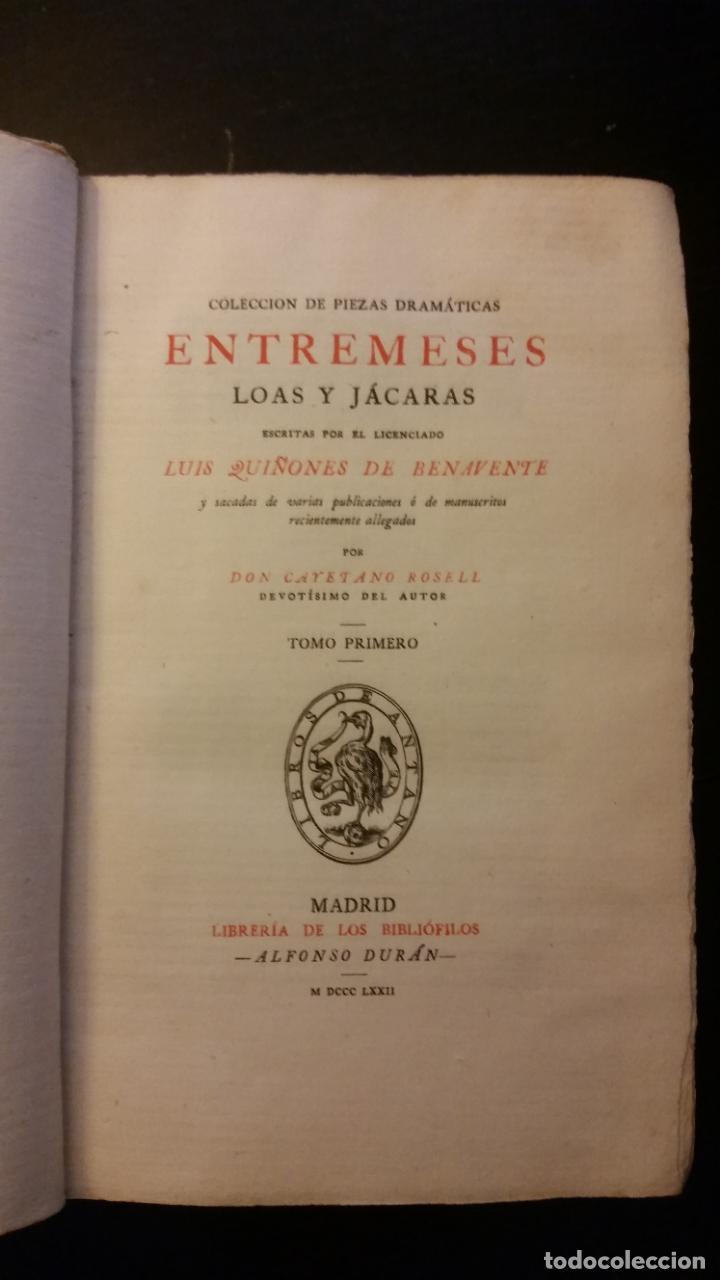 Libros antiguos: 1872 - LIBROS DE ANTAÑO - 15 tomos (colección completa), Librería de los bibliófilos - Foto 7 - 268975799