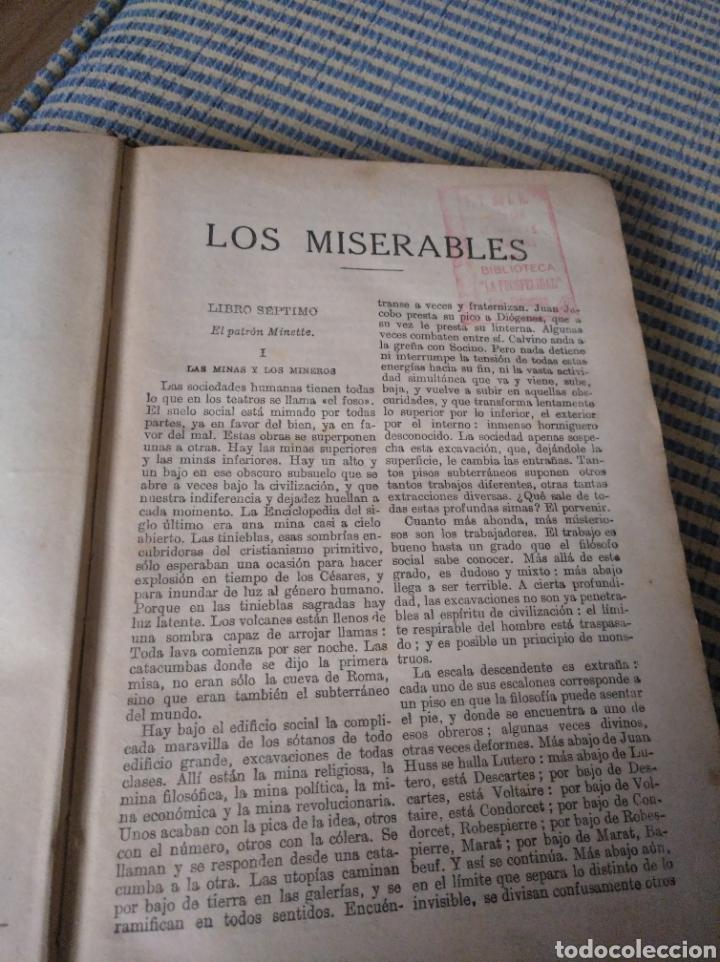 Libros antiguos: Los Miserables. Tomo II. 1931. Víctor Hugo - Foto 6 - 269125433