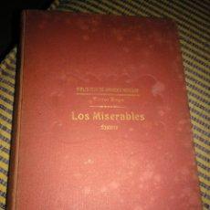 Libros antiguos: LOS MISERABLES. TOMO II. 1931. VÍCTOR HUGO. Lote 269125433