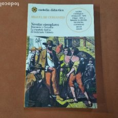 Libros antiguos: RINCONETE Y CORTADILLO , LA ESPAÑOLA INGLESA , EL LICENCIADO VIDRIERA - MIGUEL DE CERVANTES - CLB. Lote 269611218