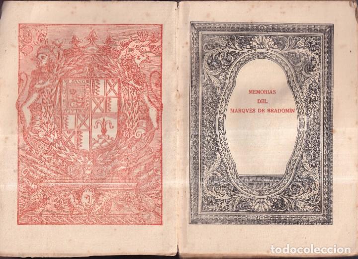 Libros antiguos: SONATA DE PRIMAVERA, MEMORIAS DEL MARQUÉS DE BRADOMIN - RAMÓN VALLE INCLÁN - OPERA OMNIA V 1922 - Foto 2 - 269771463
