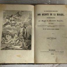 Libros antiguos: DON QUIJOTE DE LA MANCHA,FRANCISCO BONOSIO PIFERRER 1854.. Lote 269984513