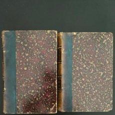 Libros antiguos: DOMBEY ET FILS. CHARLES DICKENS. 3 TOMOS EN DOS VOLUMENES. LIBRAIRIE HACHETTE. PARIS, 1895. VER/LEER. Lote 270122673