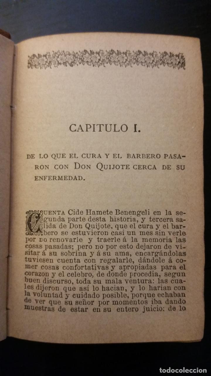 Libros antiguos: 1885 - CERVANTES - DON QUIJOTE DE LA MANCHA - SEGUNDA PARTE 2 TOMOS, ZARAGOZA, RARO - Foto 7 - 270133918
