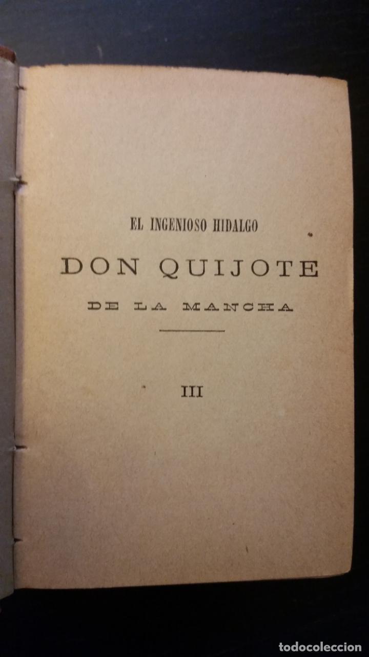 Libros antiguos: 1885 - CERVANTES - DON QUIJOTE DE LA MANCHA - SEGUNDA PARTE 2 TOMOS, ZARAGOZA, RARO - Foto 8 - 270133918