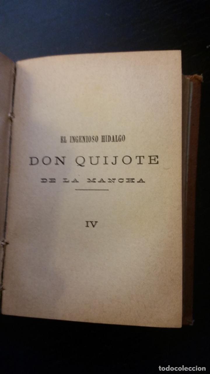 Libros antiguos: 1885 - CERVANTES - DON QUIJOTE DE LA MANCHA - SEGUNDA PARTE 2 TOMOS, ZARAGOZA, RARO - Foto 9 - 270133918