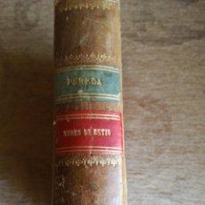 Libros antiguos: NUBES DE ESTÍO POR D.JOSE MARÍA PEREDA. Lote 270243693