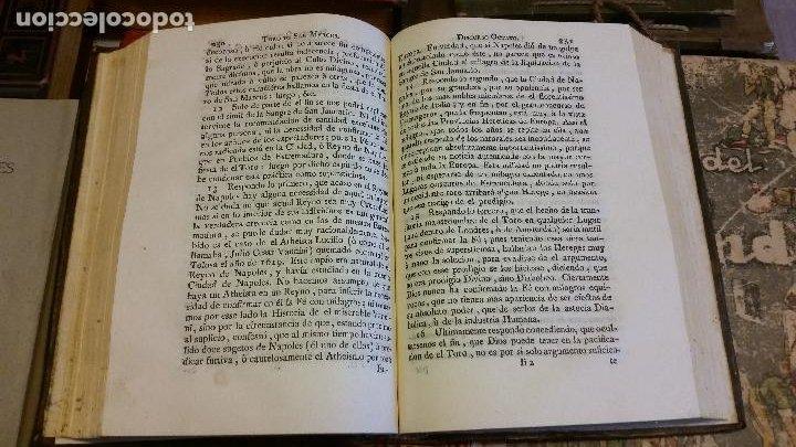 Libros antiguos: 1781 - FEIJOO - TEATRO CRÍTICO UNIVERSAL - TOMO SÉPTIMO: VENIDA DEL ANTICRISTO - Foto 6 - 270561948