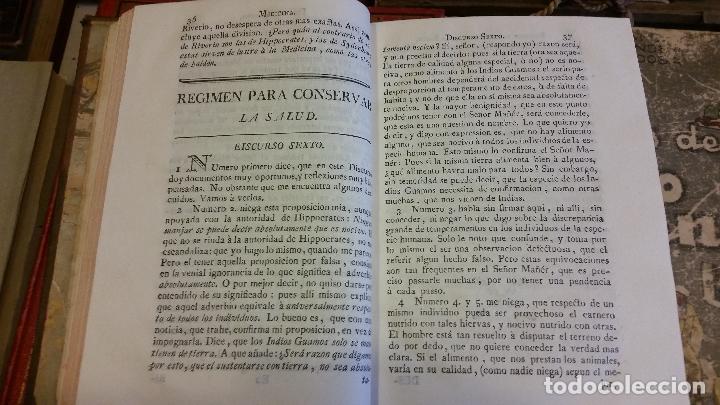 Libros antiguos: 1781 - FEIJOO - ILUSTRACIÓN APOLOGÉTICA + JUSTA REPULSA DE INICUAS ACUSACIONES - Foto 3 - 270562288
