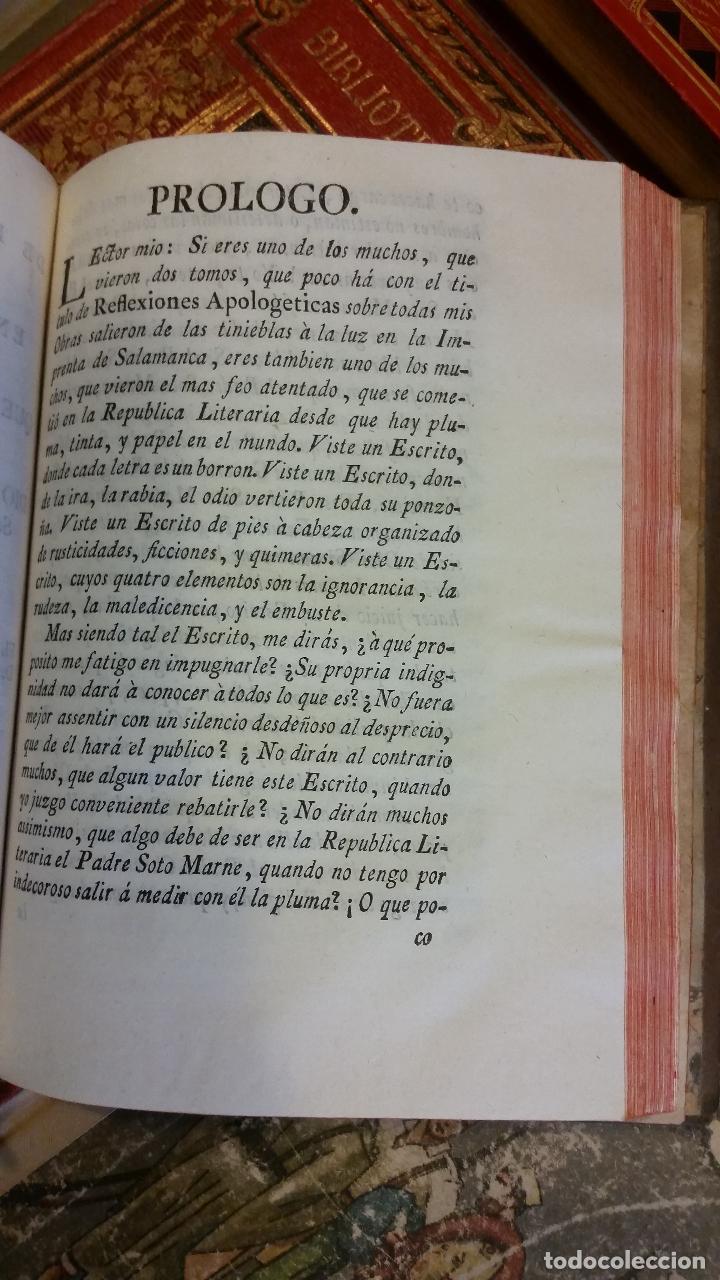 Libros antiguos: 1781 - FEIJOO - ILUSTRACIÓN APOLOGÉTICA + JUSTA REPULSA DE INICUAS ACUSACIONES - Foto 5 - 270562288