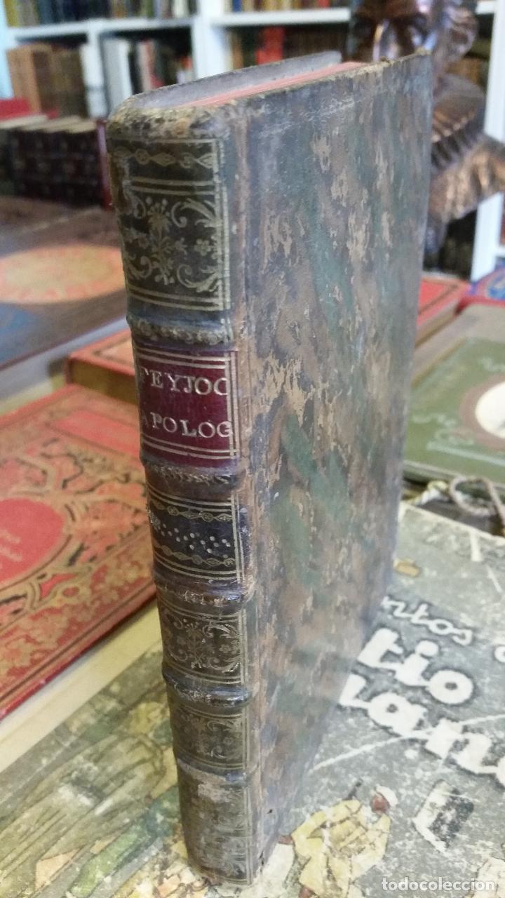 1781 - FEIJOO - ILUSTRACIÓN APOLOGÉTICA + JUSTA REPULSA DE INICUAS ACUSACIONES (Libros antiguos (hasta 1936), raros y curiosos - Literatura - Narrativa - Clásicos)