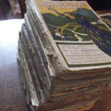 """Libros antiguos: LOTE DE 9 LIBROS ANTIGUOS """" LAS MIL NOCHES , UNA NOCHE """" SIGLO XIX. Lote 270933818"""