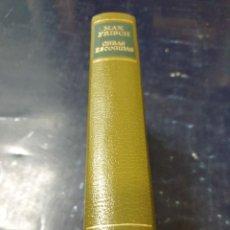 Libros antiguos: MAX FRISCH OBRAS ESCOGIDAS EDITORIAL AGUILAR PIEL. Lote 270941098