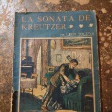Libros antiguos: LA NOVELA ILUSTRADA N° 46: GUERRA Y PAZ, LA SONATA DE KREUTZER (LEON TOLSTÓI). Lote 270976373