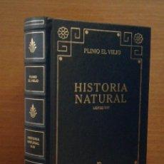 Livros antigos: PLINIO EL VIEJO - HISTORIA NATURAL - BIBLIOTECA BÁSICA GREDOS Nº 77 - 2001. Lote 273614463
