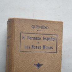 Libros antiguos: EL PARNASO ESPAÑOL O LAS NUEVA MUSAS. QUEVEDO.1886. Lote 274179088