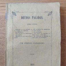 Libros antiguos: CUADRO DE COSTUMBRES POPULARES DE ACTUALIDAD. FERNÁN CABALLERO. (BÖHL DE FABER ,CECILIA) 1863. Lote 274330418