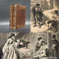Livros antigos: EL INFIERNO DE LOS CELOS - PÉREZ ESCRICH, ENRIQUE - OBRA COMPLETA - BELLA ENCUADERNACION. Lote 274387038