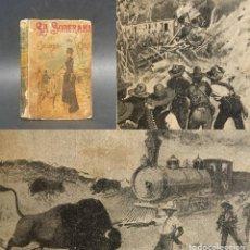 Livros antigos: AÑOS 20 - LA SOBERANA DEL CAMPO DE ORO - EDITORIAL SATURNINO CALLEJA - EMILIO SALGARI - NOVELA. Lote 274533603