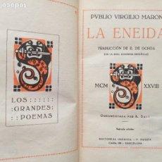 Libros antiguos: LA ENEIDA. P. VIRGILIO MARON. IBERICA 1928.. Lote 274935688