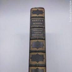 Libros antiguos: THOUGH THREE CAMPAIGNS 1903 NEW YORK POR G A HENRY EX-LIBRIS HOTEL REGIS. Lote 275200043