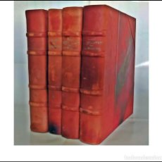 Livres anciens: DON QUIJOTE DE LA MANCHA. CON FACSÍMILES DE PÁGINAS MANUSCRITAS POR CERVANTES Y DOCUMENTOS. 4 TOMOS. Lote 275580968