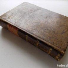 Libros antiguos: LIBRERIA GHOTICA. Q. HORATII FLACCI CARMINA EXPURGATA. 1814.EDICIÓN EN PIEL.. Lote 275609348
