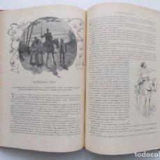 Libros antiguos: LIBRERIA GHOTICA. BELLA EDICIÓN MODERNISTA DEL QUIJOTE DE AVELLANEDA. 1902. FOLIO.MUY ILUSTRADO.. Lote 275622093
