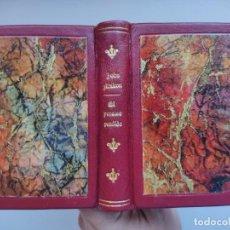 Libros antiguos: EL PARAISO PERDIDO / JOHN MILTON. EDICIONES G.P. ENCICLOPEDIA PULGA ¡¡ ENCUADERNACIÓN ARTESANAL !!. Lote 275931128