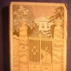 Libri antichi: RAMON GOMEZ DE LA SERNA: - LA QUINTA DE PALMYRA: NOVELA GRANDE - (MADRID, 1923) (PRIMERA EDICION). Lote 276251543