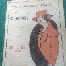 Libros antiguos: COLOMBINE. LOS INADAPTADOS. LOS CONTEMPORÁNEOS.. Lote 276300123