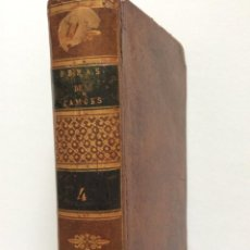 Libros antiguos: OBRAS DO GRANDE LUIS DE CAMOES, PRINCÍPE DOS POETAS DE HESPANHA. 1815. MUY RARO. Lote 276565498