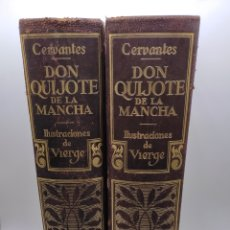 Livres anciens: DON QUIJOTE DE LA MANCHA AÑO 1930 EN 2 VOLÚMENES. Lote 276693613