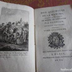 Libros antiguos: 1799-DON QUIJOTE DE LA MANCHA.MIGUEL DE CERVANTES.FRANCÉS.UN GRABADO.TOMO 4. ORIGINAL.AÑO VII. Lote 277172588