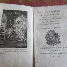 Libros antiguos: 1799-DON QUIJOTE DE LA MANCHA.MIGUEL DE CERVANTES.FRANCÉS.UN GRABADO.TOMO 5. ORIGINAL.AÑO VII. Lote 277172933