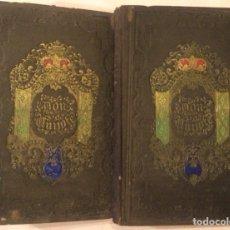 Libros antiguos: CERVANTES EL HIDALGO DON QUIJOTE 2 DOS TOMOS IMPRENTA LUIS TASSO BARCELONA 1857. Lote 278524563