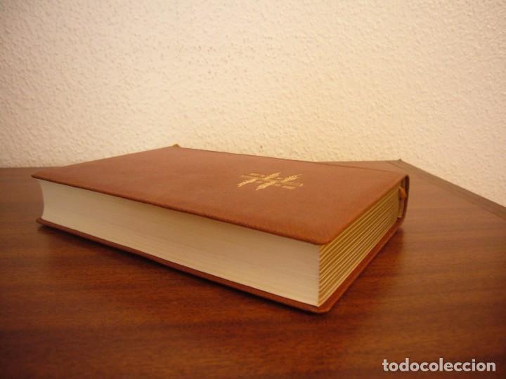 Libros antiguos: LESAGE: AVENTURAS DE GIL BLAS DE SANTILLANA (VERGARA, 1959) PRIMERA ED. EN PLENA PIEL CON ESTUCHE - Foto 4 - 278609513